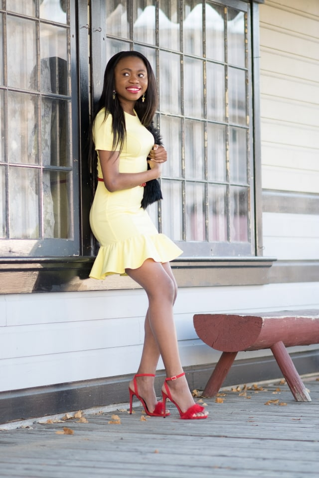 Pioneers Park Fairbanks, Nigerian girl, skinny girl, fashion blogger, Style blogger