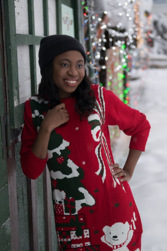 Winter Wonderland: Ugly Christmas Sweater Outfit