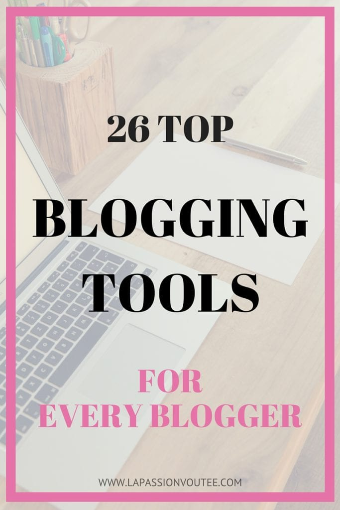 Blogging Tools | Blogging Tips | Blogging Resources | Learn about the top 26 blogging tools we use and recommend that bloggers use to grow their blogs. I know how important this is because having a comprehensive list of top blogging tools would have been a tremendous resource for me when I started blogging a few years ago. I have put together this detailed list of the top blogging tools and services that I use and highly recommend. Everything you need in one place. Click to get the scoop.