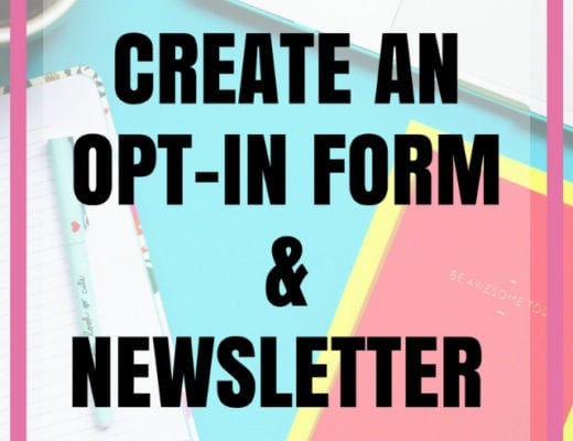 Click through to find out how to quickly create a newsletter and opt-in form for your blog. This is a detailed step-by-step guide to setting up your email newsletter with Convertkit. Blogging tips | Email list