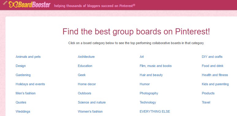 How to find the best group boards to join to drive traffic to your blog