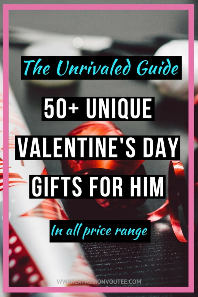 The unrivaled guide 50 unique valentines day gifts for him for Best gift of valentine day
