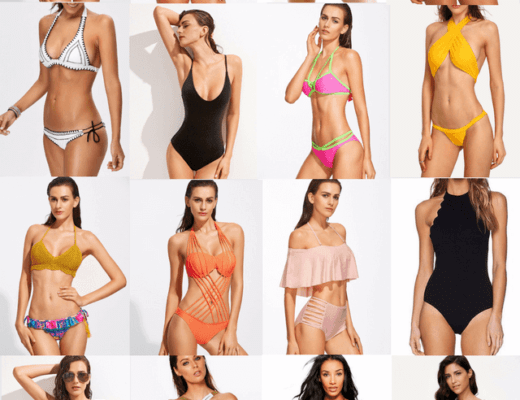 35 cute swimsuits for women to wear right now. From bikinis and tankinis to monokinis all cost $25 or less. Swimsuit | Swimwear | Beachwear | Binkini | Bikini set | One piece suit | Monokini | Tankini