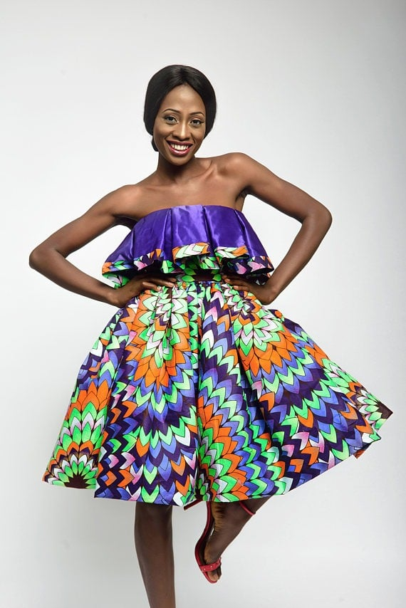 Fashionable African Dresses Pictures