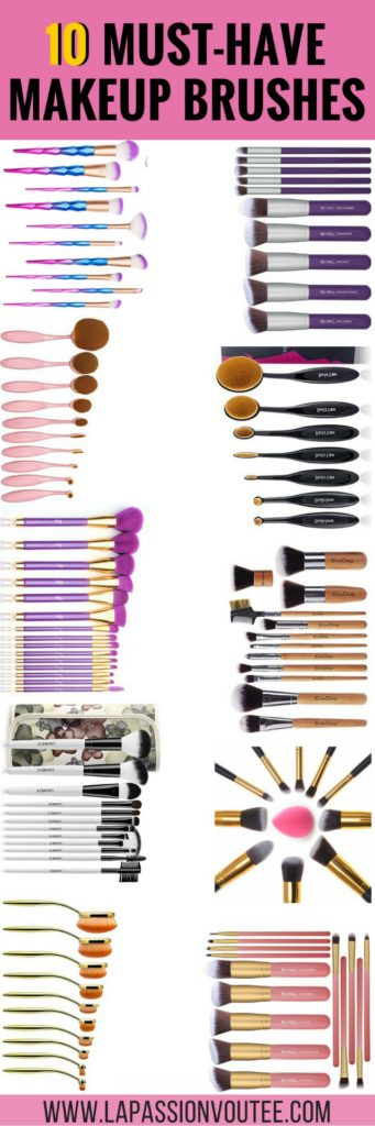 OMG, these are the BEST makeup brush sets on Amazon! Don't waste your money on expensive makeup brushes when you can get the same results with these best-selling brushes that are under $15! Seriously, check out this post! makeup brushes guide, best makeup brushes, makeup brushes 101, makeup brush set