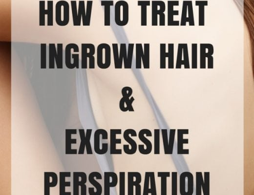 How to get rid of excessive sweating, ingrown hair, and take care of acne-prone skin