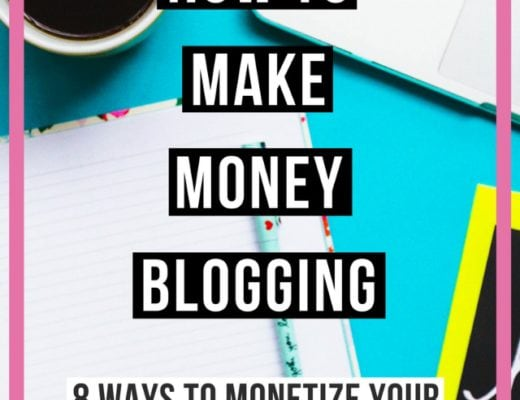 How to Make Money Blogging: 8 Ways to Monetize your Fashion Blog | If you are wondering how to make money blogging, this post is for you! These are 8 strategies that help fashion bloggers, like myself, monetize their blogs. Post includes resources and tips. Click to read all about it.