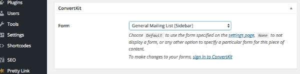 Quickly create an email opt-in form for your website