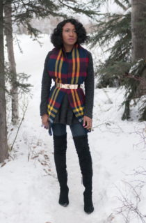 Blogger Collab: Styling a Scarf