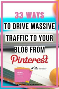 33 Ways to Drive Massive Referral Traffic to Your Blog from Pinterest | Use the strategies I used to get over 20,000 referral traffic from Pinterest in one month!