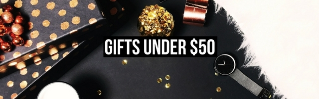 Amazing gifts for her this holiday that cost less than $50