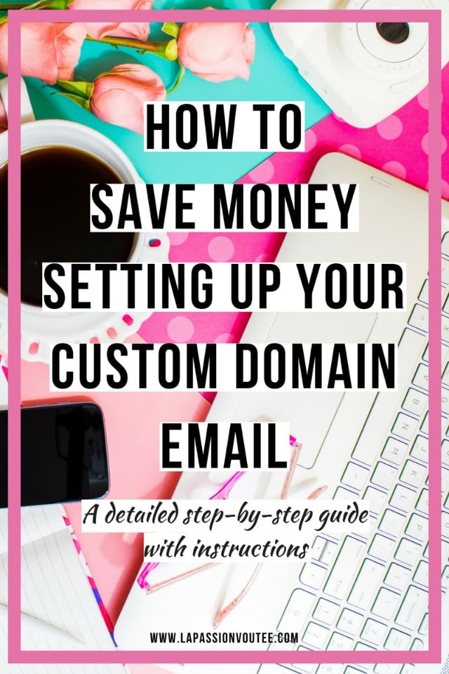 How to Quickly Setup a Professional Email Address on Gmail for Cheap | Ready to get your own custom domain name email with Gmail? This detailed guide will show you how easy it is to get Gmail and its suite of tools for cheap. Perfect for bloggers and freelancers. Click to get started and find out how you can save 20% every month!