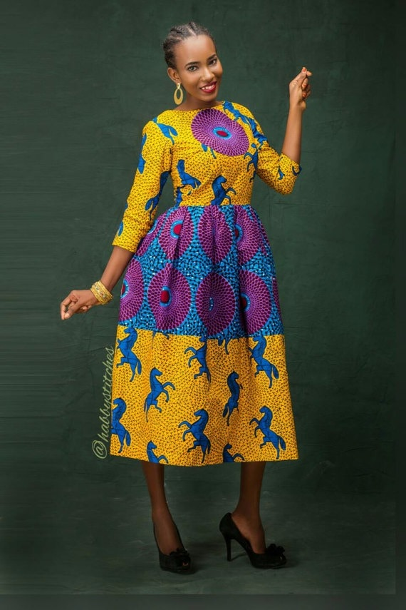 The Latest African Fashion Dresses