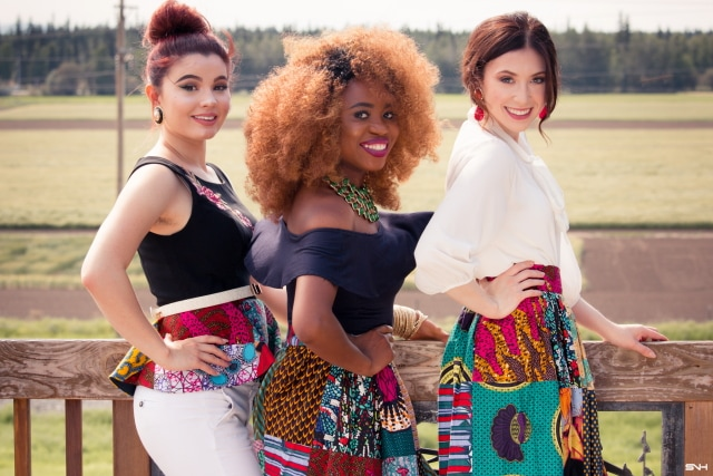 Girl gang African fashion! Love how these ladies styled ankara African print patchwork pieces. They wore these colorful pieces so well! Summer style, dutch wax, kente, kitenge, dashiki, African styles, African prints, Nigerian style, Ghana fashion #ankara #africanprint