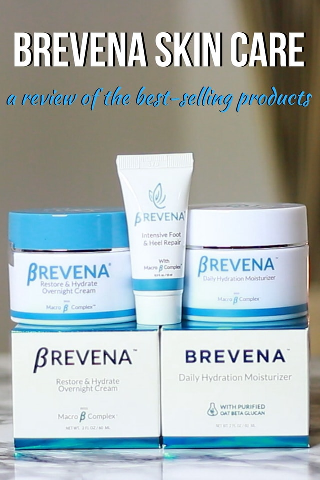 A review of Brevena Skin Care set - Do you suffer from dry, damaged or sensitive skin? Definitely read this review of the Brevena Basics pack to see if their bestselling products can get your skin smooth, healthy, and hydrated. Read all about my experience using this products! #dryskin #skincare