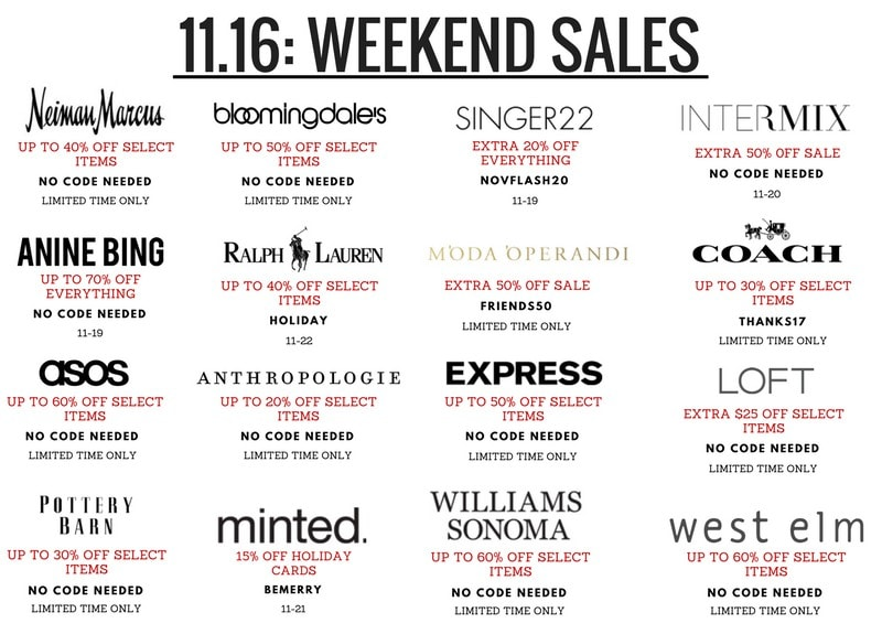 Sharing some amazing weekend sales happening right now. Louisa moje rounds up the best picks from these limited time sales that are both practical and perfect this time of the year.