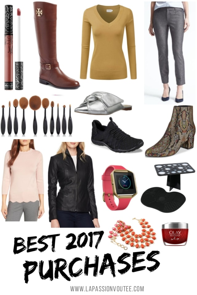 Sharing my best purchases of 2017 - all the products I love and would absolutely buy again in a heartbeat. These items are tried and true and come highly recommended! You'll be surprised by how inexpensive some of these items are. Everyday fashion for today's woman.