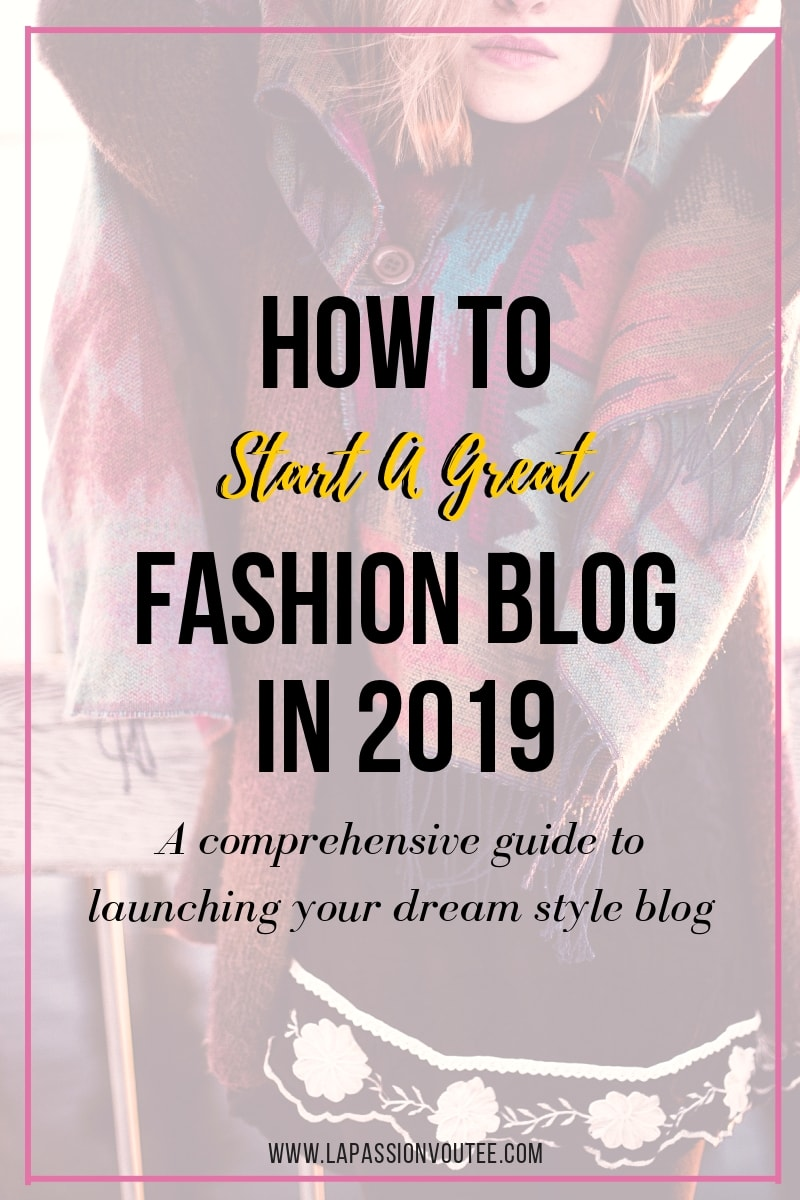 To acquire How to fashion a start blog picture trends