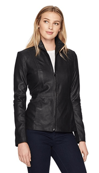 Sharing my best purchases of 2017 - all the products I love and would absolutely buy again in a heartbeat. These items are tried and true and come highly recommended! You'll be surprised by how inexpensive some of these items are. Best Purchases of 2017 - Lark & Ro Scuba Leather Jacket.