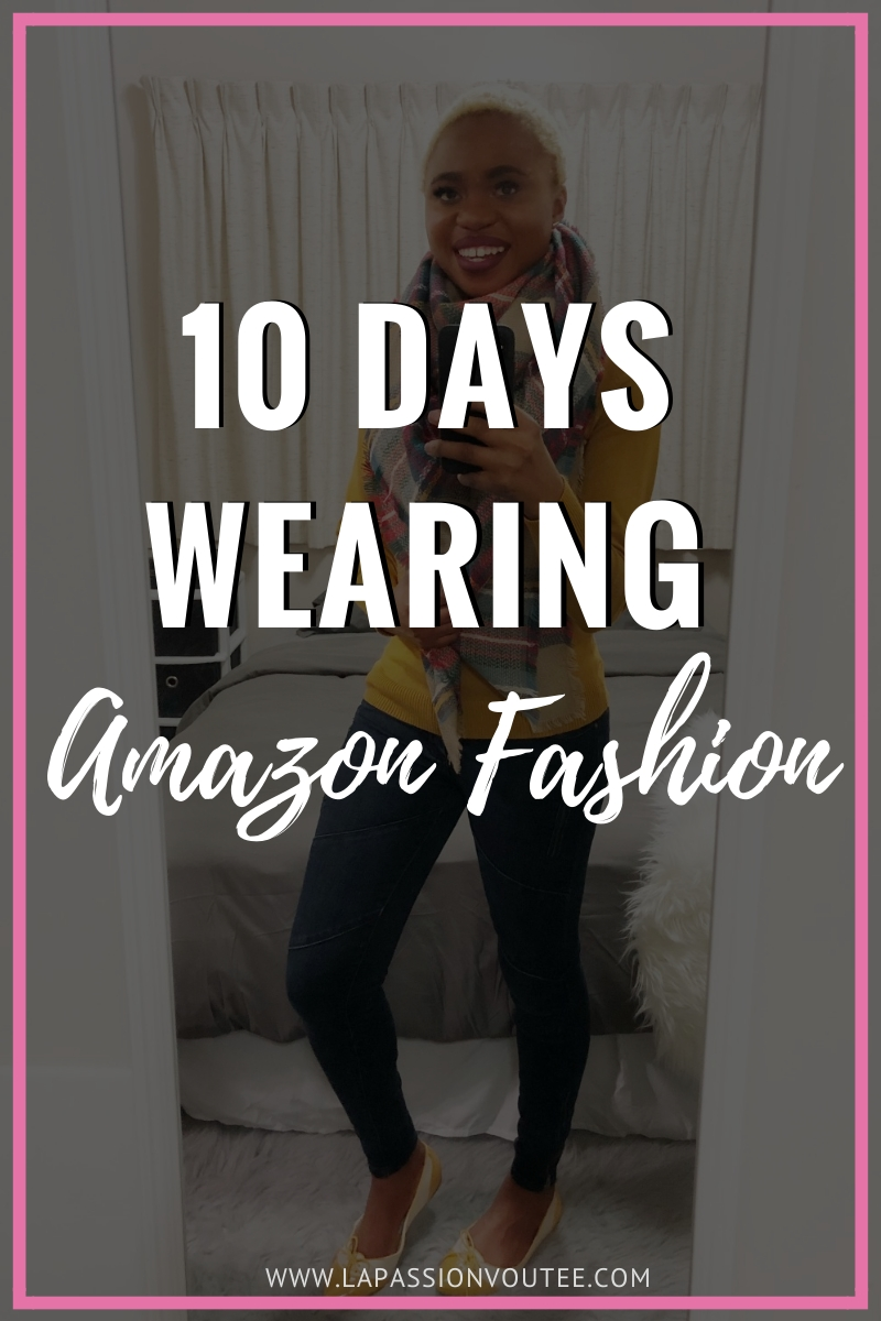 Not sure about what Amazon Fashion has to offer? Louisa Moje takes us behind the scenes with detailed reviews wearing clothes from Amazon for 10 days. Don't make the mistakes she made! All the scoop before making a clothing purchase on the online giant!