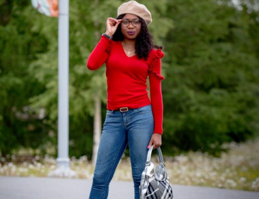 If you're at a loss on how to style a French beret right now, READ this post! For the longest time, I struggled to make a black beret look good on me like it did on others. Read on to find out 10 easy ways to wear a French beret this season + the latest trends in beret hat fashion and where to get them. #beret