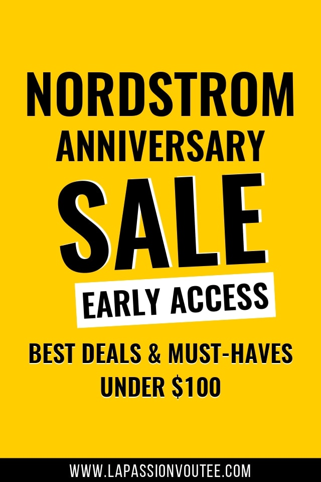 These are the absolute BEST deals from the Nordstrom Anniversary Sale 2018 Early Access under $100. + find out how to shop the sale now WITHOUT a Nordstrom card!
