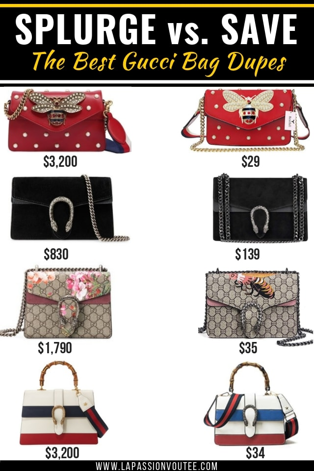 Got Your Eyes On Gucci Handbag Dupes Read This Post First Find Out Everything