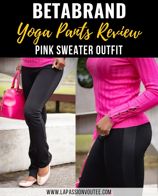 The Best Betabrand Yoga Pants Review & A Stylish Pink