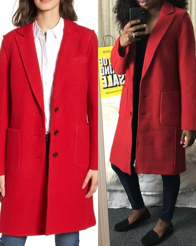 The Best of Nordstrom Anniversary Sale 2018 | What I Kept or Returned! See real outfit photos with sizing tips, style suggestions and more for all of the hottest anniversary sale items. If there is only one item you get from the Nordstrom Sale, it should be this... J. Crew Olga Boiled Wool Topcoat. nsale, nordy, nordstrom, Early Access, annual sale, semi-annual sale, yearly sales, nordstrom anniversary sale 2018 picks, nordstrom anniversary sale 2018 preview, nordstrom anniversary sale blog
