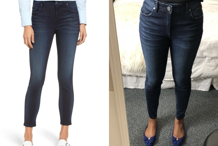The Best of Nordstrom Anniversary Sale 2018 | What I Kept or Returned! See real outfit photos with sizing tips, style suggestions and more for all of the hottest anniversary sale items. If there is only one item you get from the Nordstrom Sale, it should be this... Kut From The Kloth Donna Ankle skinny Jeans. yearly sales, nordstrom anniversary sale 2018 picks, nordstrom anniversary sale 2018 preview, nordstrom anniversary sale blog, nordstrom anniversary sale review