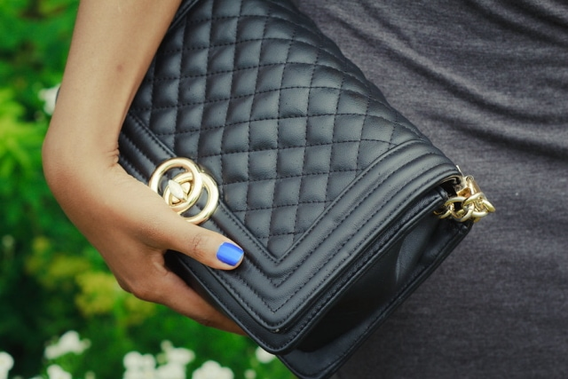 "The Chanel Boy Bag! It's my dream to own one of these. Emphasis on ""dream"". For now, this Chanel Boy bag dupe will do!"